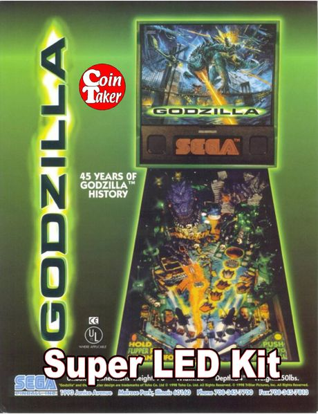 2. GODZILLA LED Kit w Super LEDs