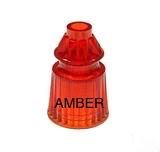 "1-1/16"" AMBER STAR POST (LIGHT RED)"