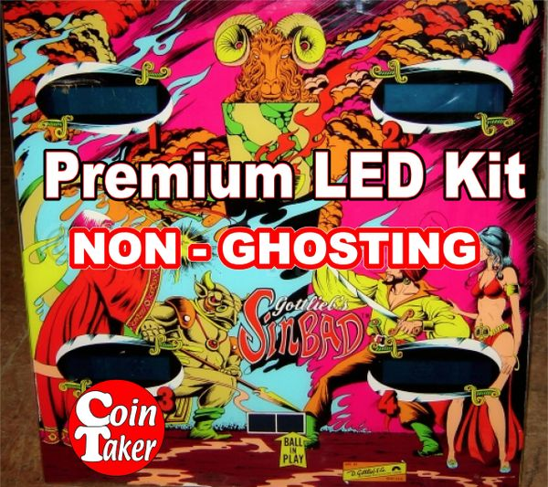 1. SINBAD LED Kit with Premium Non-Ghosting LEDs