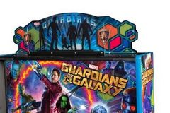 GUARDIANS OF THE GALAXY PINBALL TOPPER