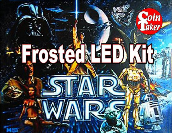3. STAR WARS Data East 1992 LED Kit w Frosted LEDs
