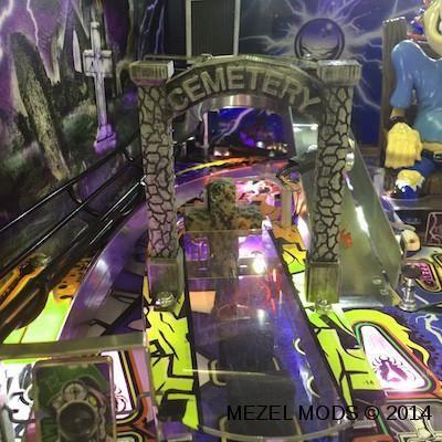 Metallica Pinball Flashing Cemetery Arch