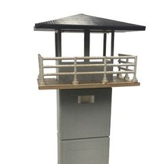 WALKING DEAD PRISON TOWER