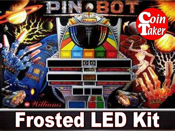 3. PINBOT LED Kit w Frosted LEDs