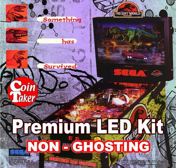 1. LOST WORLD JURASSIC PARK Sega LED Kit with Premium Non-Ghosting LEDs