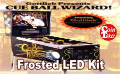 3. CUE BALL WIZARD LED Kit w Frosted LEDs