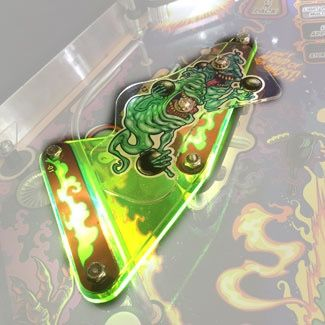 GHOSTBUSTERS GREEN PLASTIC PROTECTOR SET