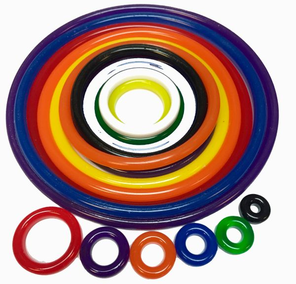 MONSTER BASH POLYURETHANE RUBBER RING KIT - 28 PCS
