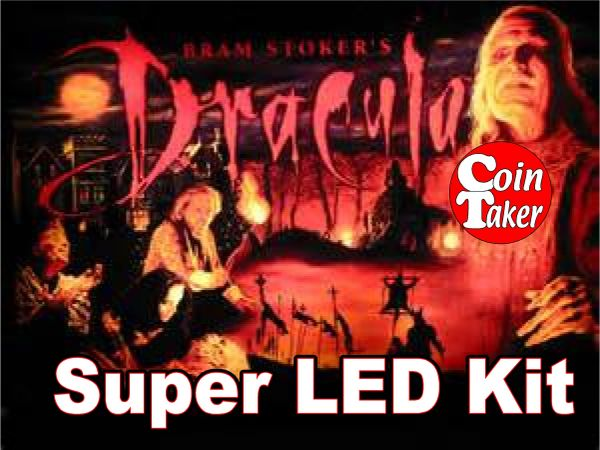 2. BRAM STOKER'S DRACULA LED Kit w Super LEDs