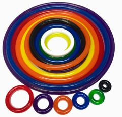 The Addams Family Polyurethane Rubber Ring Kit - 42 pcs.