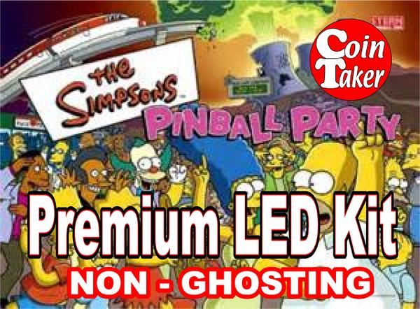 SIMPSONS PINBALL PARTY-1 LED Kit w Premium Non-Ghosting LEDs