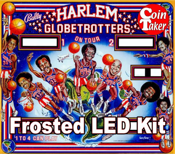 3. HARLEM GLOBETROTTERS LED Kit w Frosted LEDs