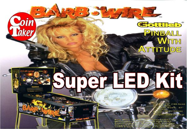 2. BARB WIRE LED Kit w Super LEDs