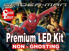 SPIDERMAN / & BLACK -1 LED Kit w Premium Non-Ghosting LEDs