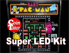 2. BABY PAC-MAN LED Kit w Super LEDs