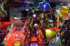 Iron Man Pinball Illuminated Iron man mod
