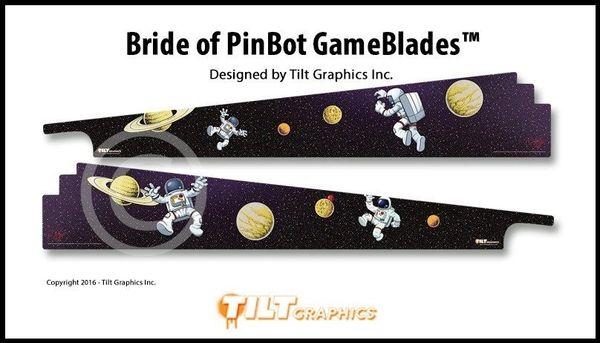 BRIDE OF PINBOT GAME BLADES