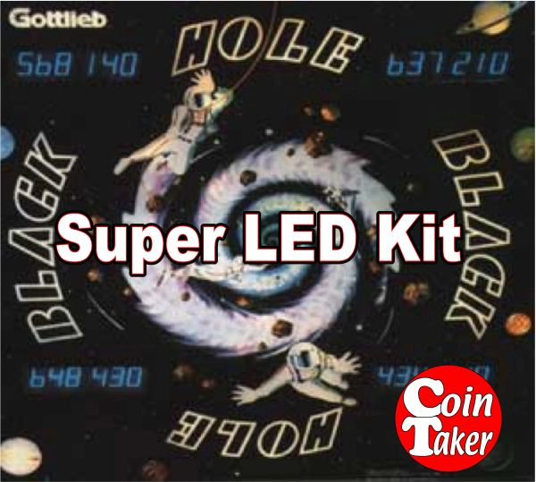 2. BLACK HOLE LED Kit w Super LEDs