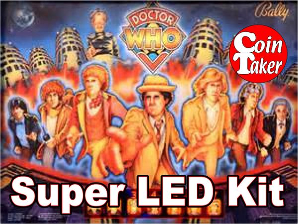 2. DR WHO LED Kit w Super LEDs
