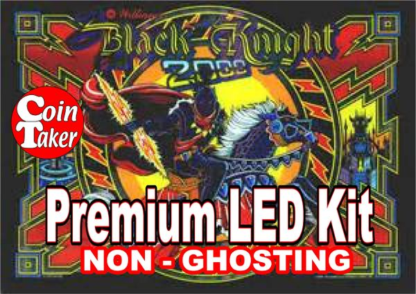 1. BLACK KNIGHT 2000 LED Kit with Premium Non-Ghosting LEDs
