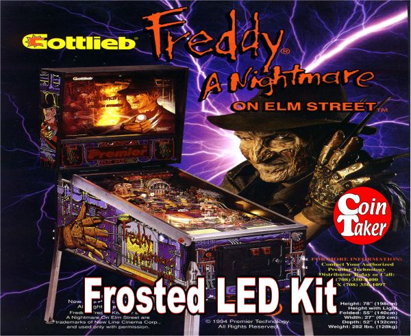 3. NIGHTMARE ON ELM STREET LED Kit w Frosted LEDs