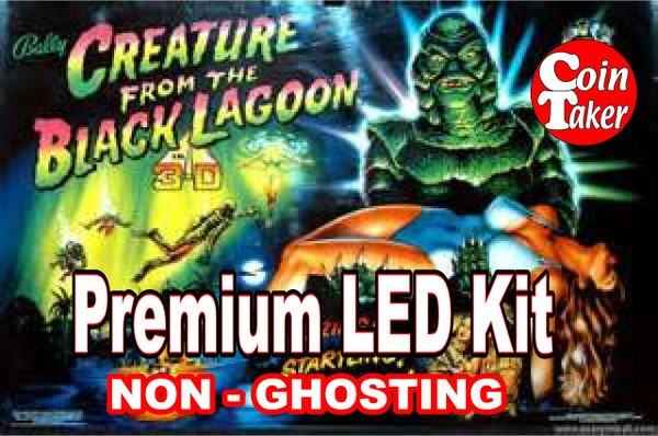 1. CREATURE FROM THE BLACK LAGOON LED Kit with Premium Non-Ghosting LEDs
