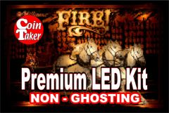 1. FIRE LED Kit with Premium Non-Ghosting LEDs