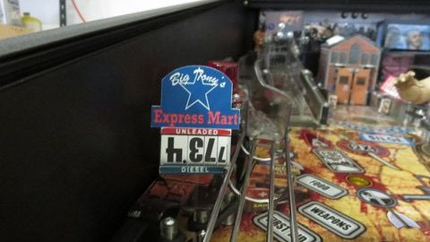 TWD EXPRESS MART SIGN