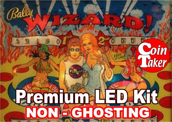 1. WIZARD LED Kit with Premium Non-Ghosting LEDs