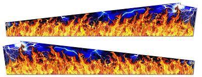 METALLICA-5 FLAME PINBLADES