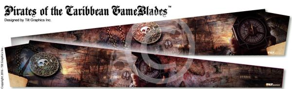 STERN PIRATES OF THE CARIBBEAN GAME BLADES