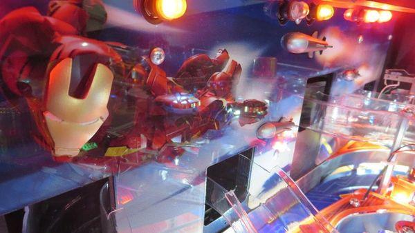 Iron Man 3D Backboard Mod