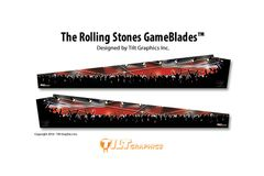 THE ROLLING STONES/ELVIS/TOMMY GAMEBLADES