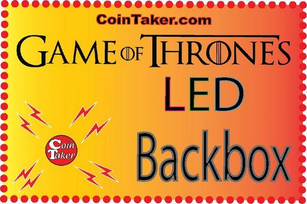 Game of Thrones Custom Backbox