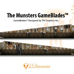 The Munsters Mansion GameBlades