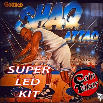 SHAQ ATTAQ LED Kit w Super LEDs