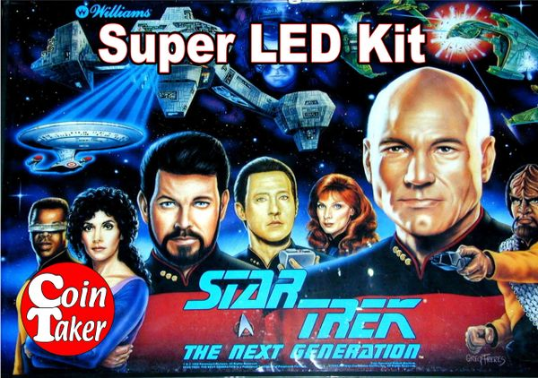 2. STAR TREK NEXT GENERATION LED Kit w Super LEDs