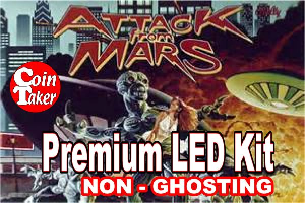 ATTACK FROM MARS LED Kit with Premium Non-Ghosting LEDs