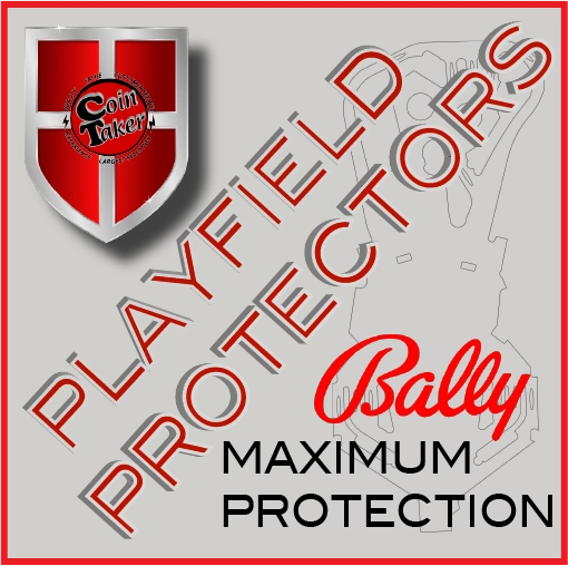 Playfield Protector Pinball - BALLY