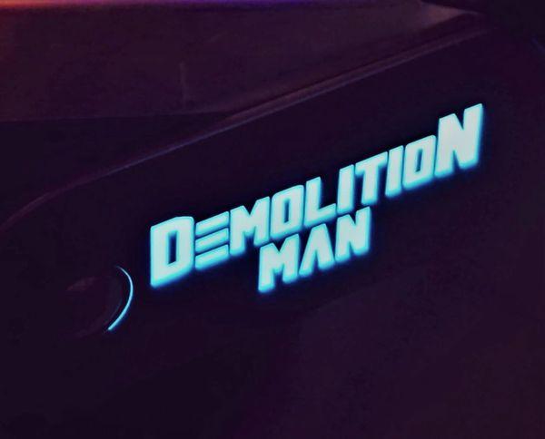 DEMO MAN LIGHT BLUE LIGHTED MAGNETIC HINGE COVERS