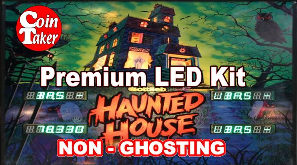 1. HAUNTED HOUSE LED Kit with Premium Non-Ghosting LEDs