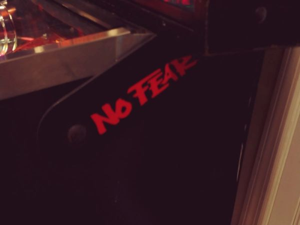 NO FEAR RED LIGHTED MAGNETIC HINGE COVERS