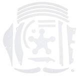 CIRQUS VOLTAIRE CLEAR BACKBOX PLASTIC SET