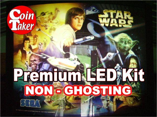1. STAR WARS TRILOGY Sega 1997 LED Kit with Premium Non-Ghosting LEDs