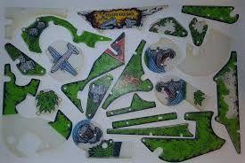 CONGO SILKSCREENED PLAYFIELD PLASTIC SET