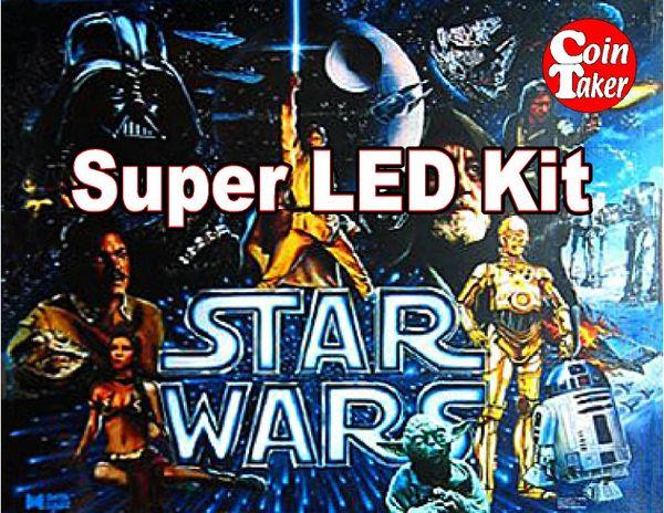 2. STAR WARS Data East 1992 LED Kit w Super LEDs