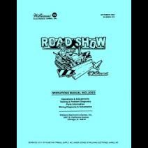ROADSHOW PINBALL MANUAL (REPRINT)