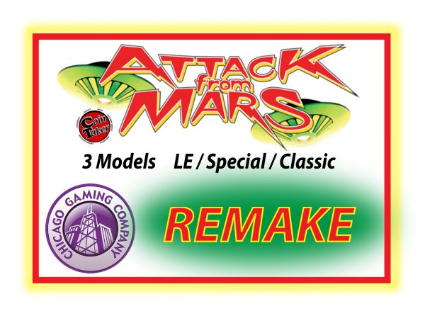 AFMR Attack From Mars Remake