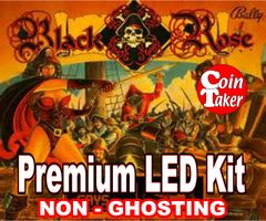 BLACK ROSE LED Kit with Premium Non-Ghosting LEDs