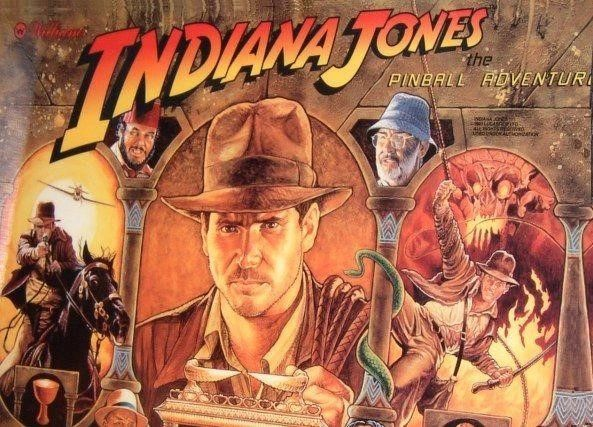 1. 1993 INDIANA JONES BALLY/WILLIAMS LED Kit with Premium Non-Ghosting LEDs